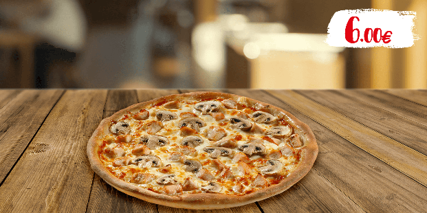 Σήμερα απολαμβάνεις πίτσα 10 τμχ μόνο με 6€!
