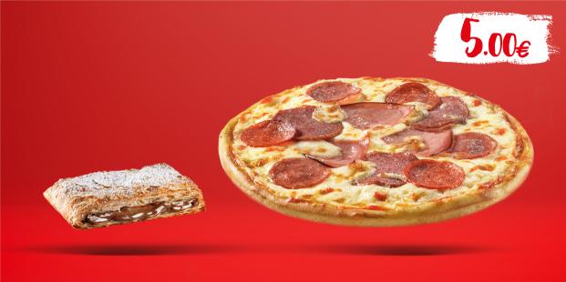 Πίτσα Piccola (6τμχ) & Ατομικό Choco Krats με 5€!