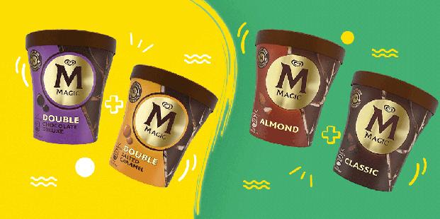Απόλαυσε 2 παγωτά Magic 440ml με 9.20€!