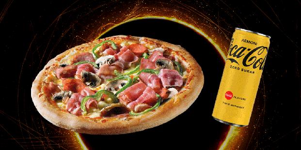 Απόλαυσε πίτσα piccola 6τμχ. & αναψυκτικό 330ml με 4€!