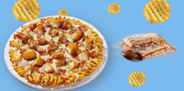 Πίτσα Crosscut & ατομικό choco krats με 9.85€!