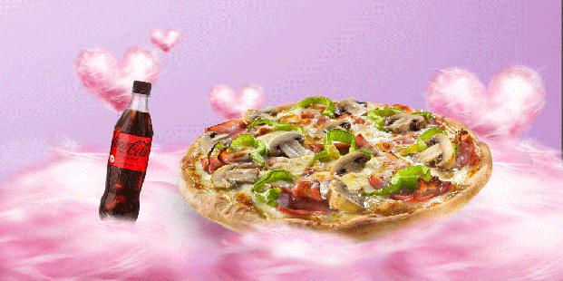 Πίτσα 10 τμχ. & αναψυκτικό 500ml 7€!
