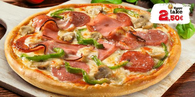 Πίτσα Piccola 6τμχ. μόνο 2.5€ για παραλαβή από κατάστημα!